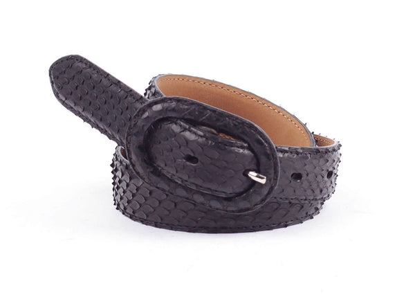 Signora Python Leather Belt