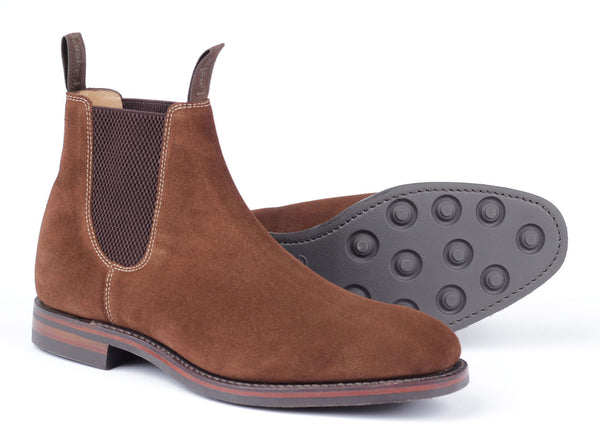 Chatsworth Dainite - Brown Suede