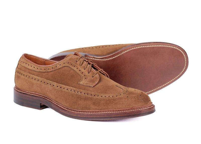 9794 E - Derby - Brown Suede