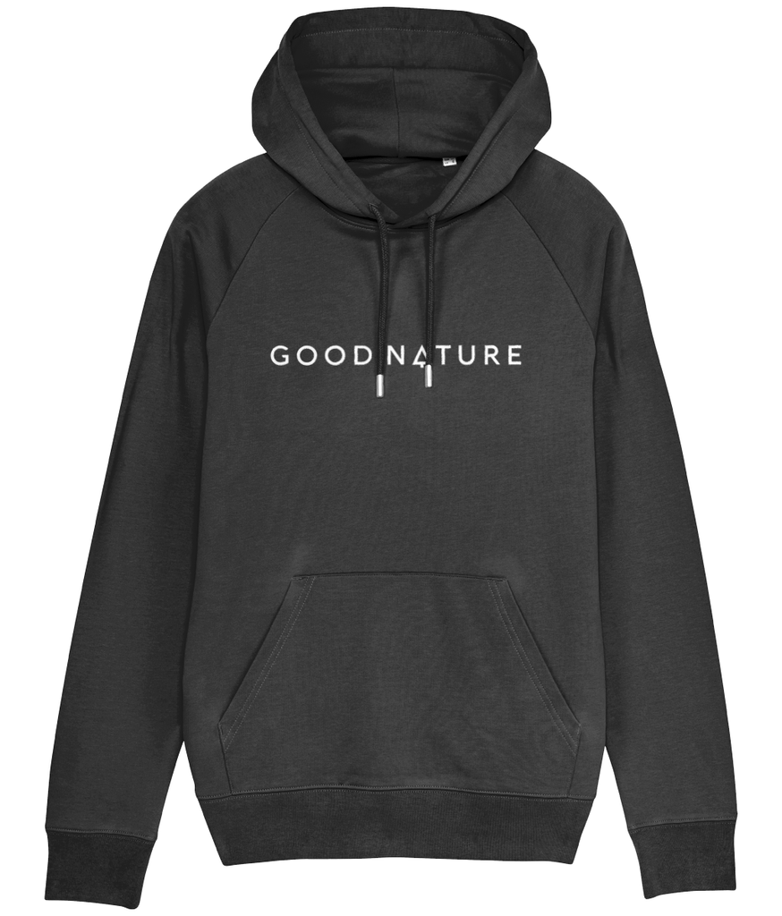 Unisex Hoodie with Horizontal Logo - Good Nature Official