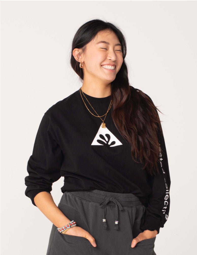 Wasted Collective Icon LS Tee Black