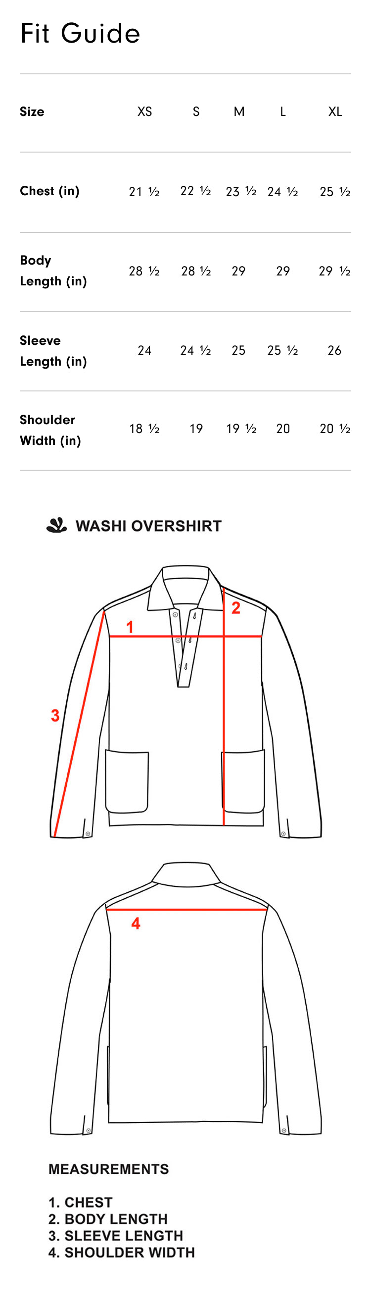 Product fit guide