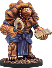 Tlah-Loke - Turtlefolk Medium Armor 28mm Miniature