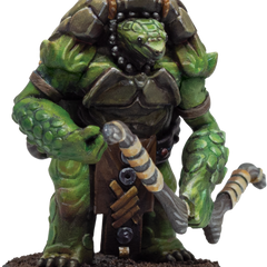 Aristurtle - Turtlefolk - Light Armor Miniature
