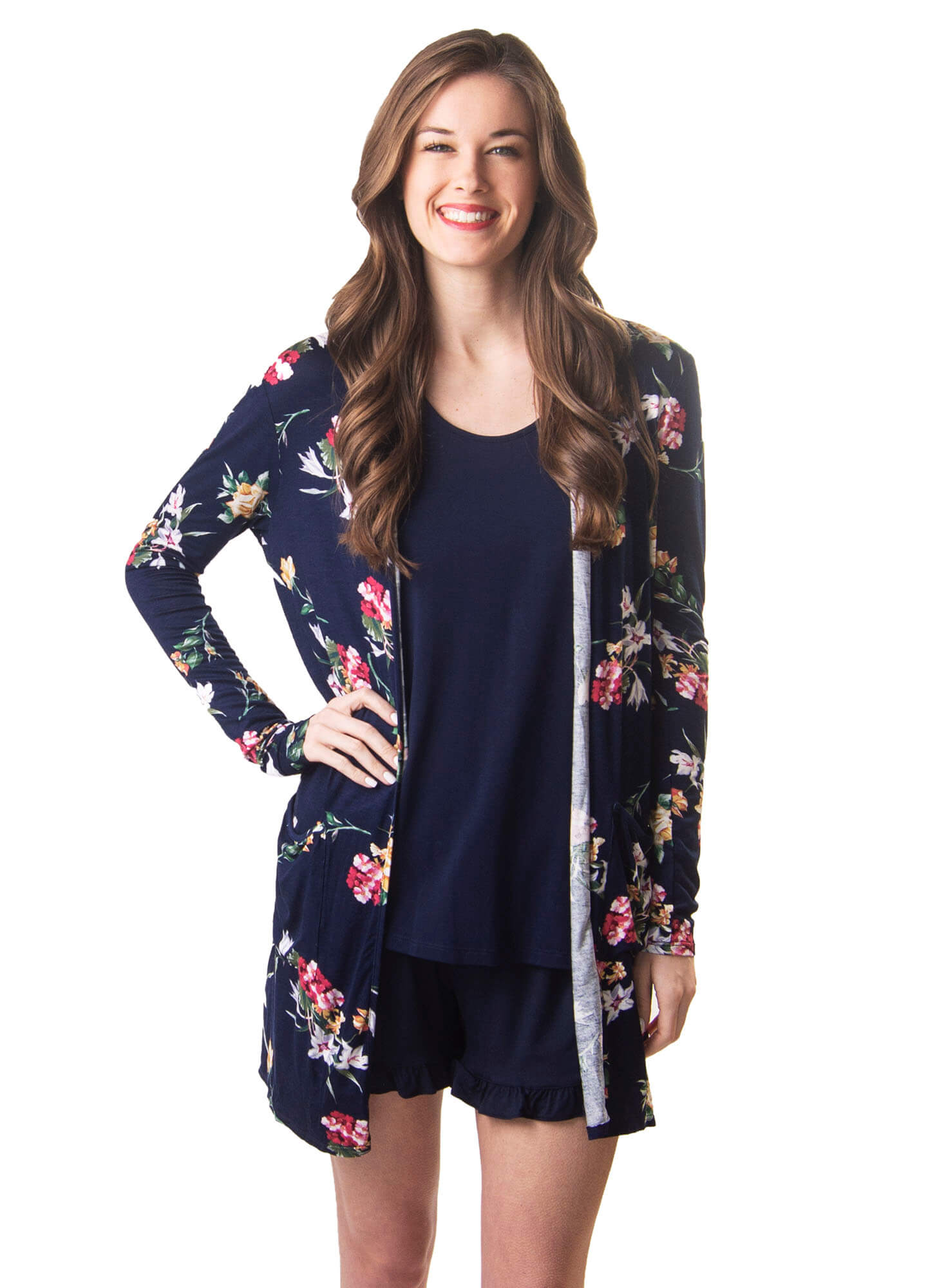 Willow Floral Cardigan