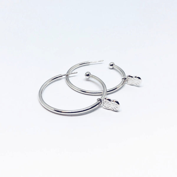 Hoops pendentif Coquillage
