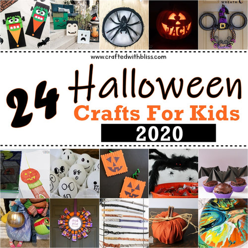 24 Unique Halloween Crafts For Kids 2020