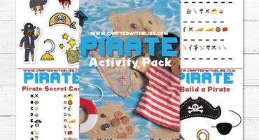 FREE Pirate Activity Pack For Kids