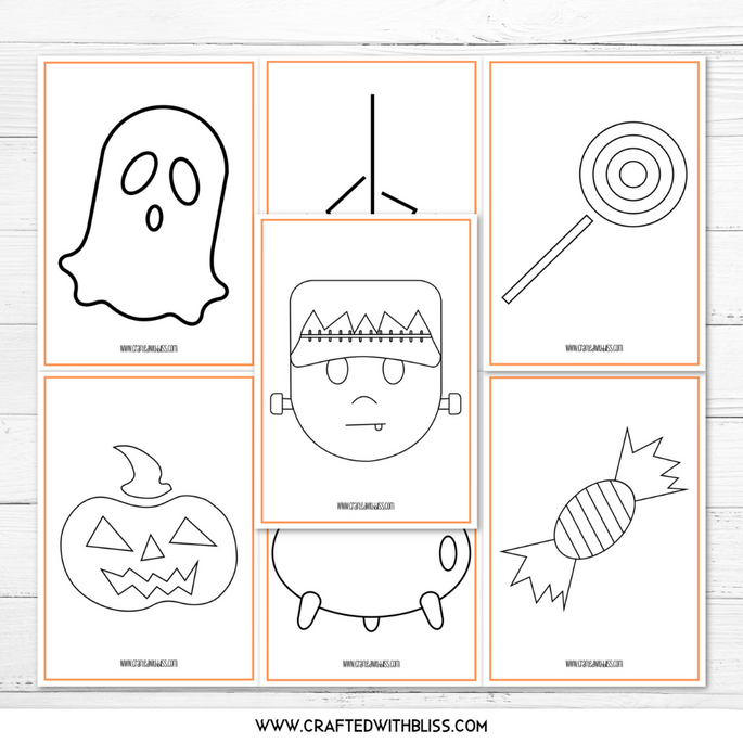 FREE Halloween Coloring Bundle