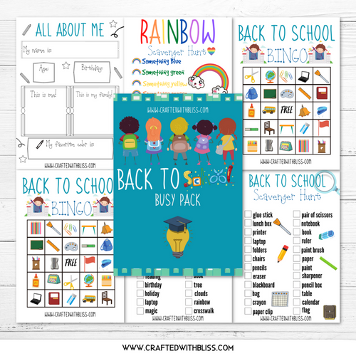 FREE Back to School Busy Pack