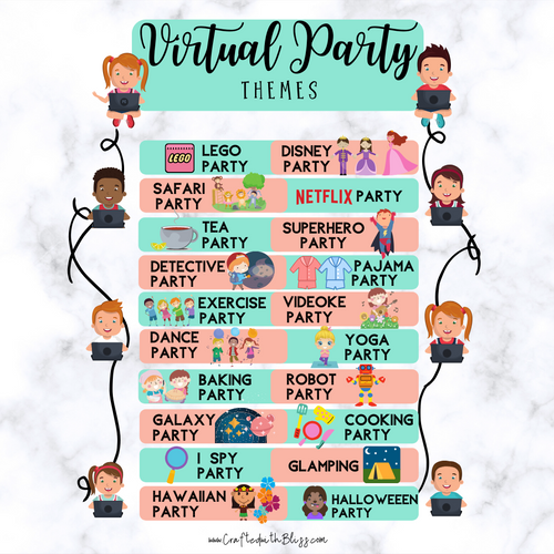 International Friendship Day Celebration Ideas (Virtual Party Themes)