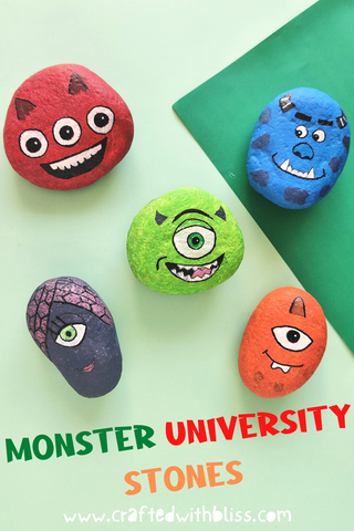 Monster University Stones Pinterest post