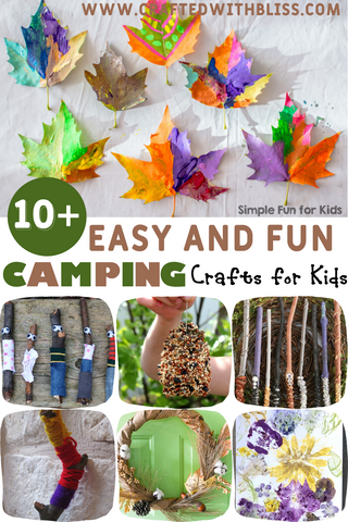 Easy and Fun Camping Crafts for Kids