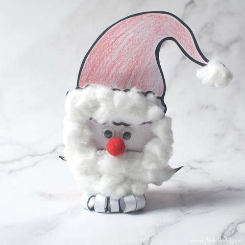 TP Santa Christmas Craft