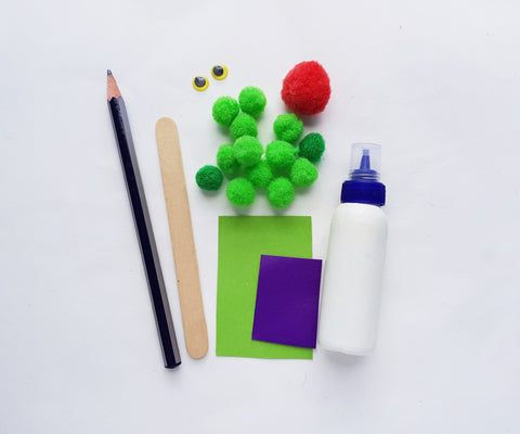 The Very Hungry Caterpillar Easy Craft Materials