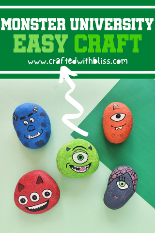 Monster University Stones Pinterest