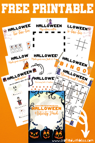 FREE Halloween Activity Pack FREE Halloween Activity Pack