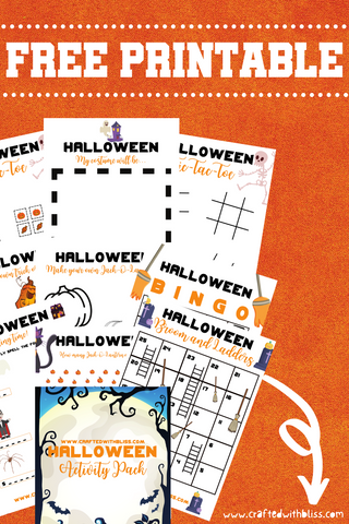 FREE Halloween Activity Pack pinterest