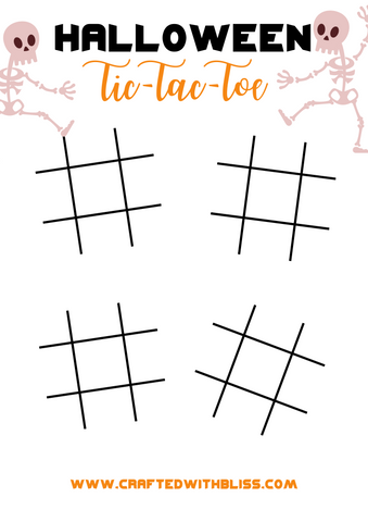 FREE Halloween Activity Pack Tic Tac Toe