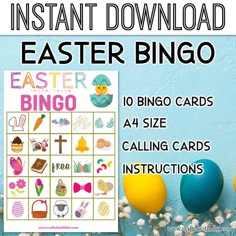 Easter Bingo For Kids