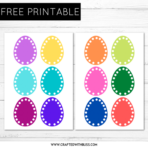 FREE Easter Hole Punch Activity, Fine Motor Printable