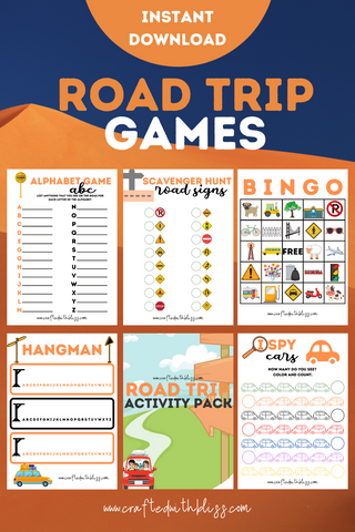 FREE Road Trip Activity Pack for Kids