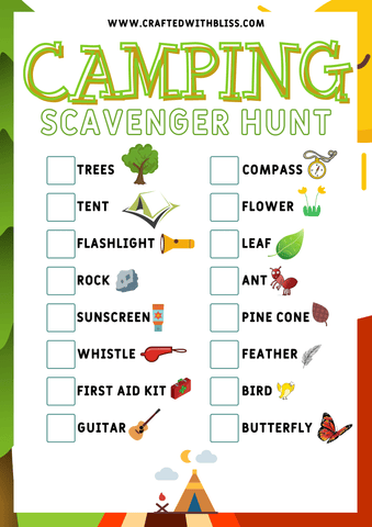 FREE Scavenger Hunt Games