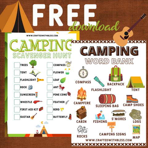 Camping Activities & Games for Kids