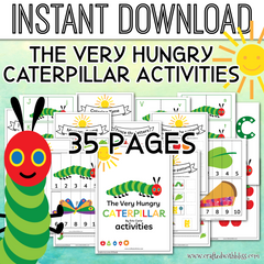 The Very Hungry Caterpillar Activities For Kids