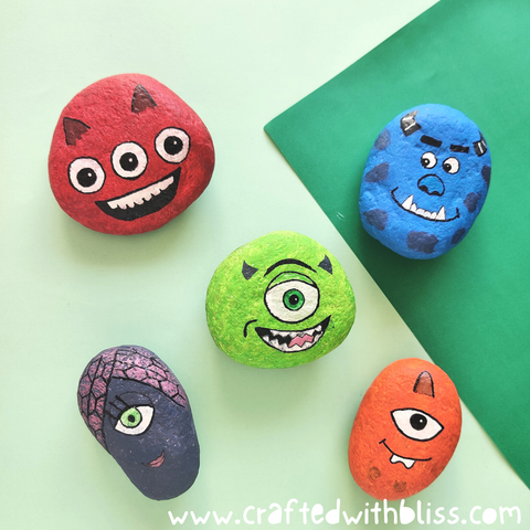 Monster University Stones finish
