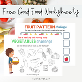 FREE Good Food and Pattern Challenge - CraftedwithBliss