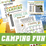 Camping Fun Printable For Kids - CraftedwithBliss