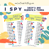 FREE: I Spy Daddy's and Grandpa's Things - CraftedwithBliss
