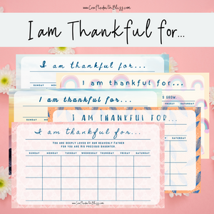 I am Thankful For... - CraftedwithBliss
