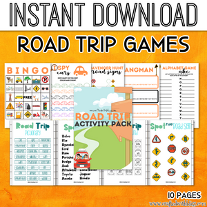 Road Trip Activity Pack For Kids - CraftedwithBliss