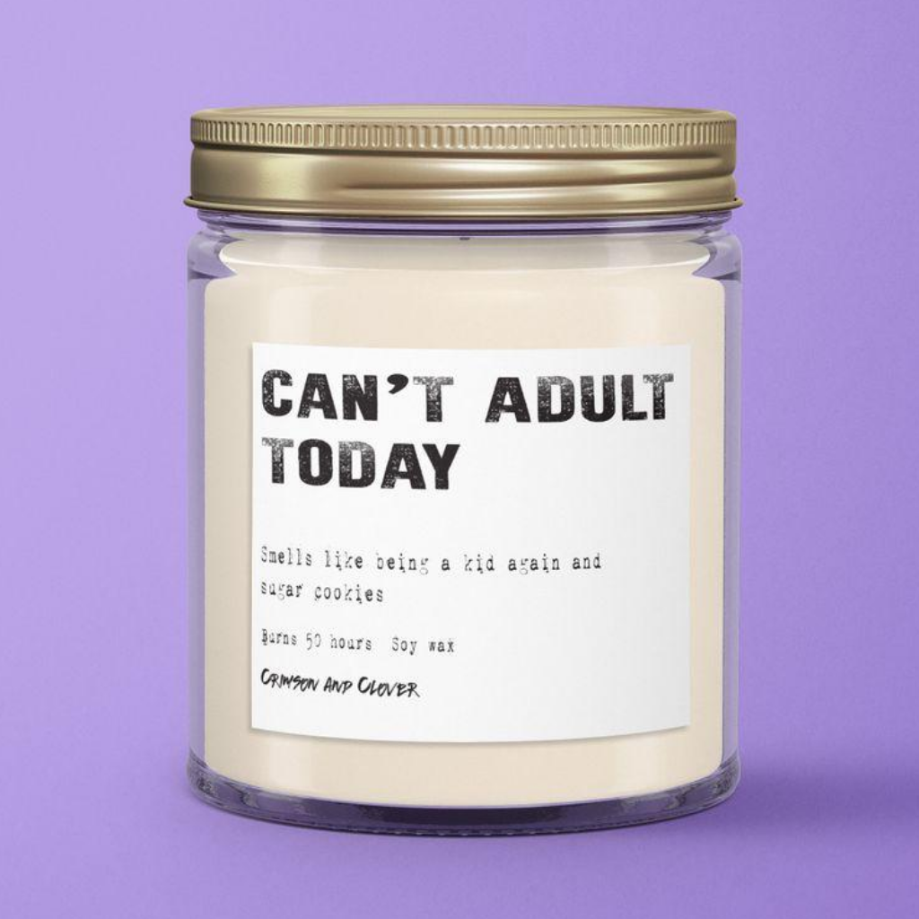 Can't Adult Candle