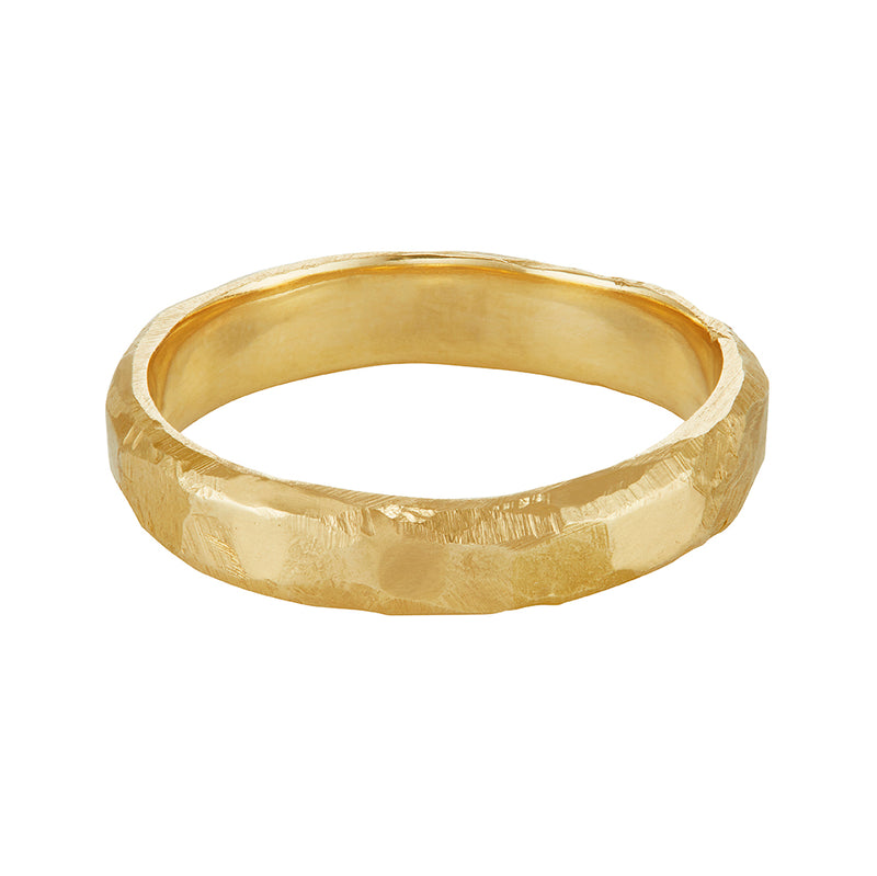 LXV 4mm Gold Wedding Band