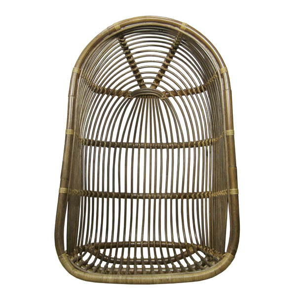Columpio de rattan Renoir antique frente