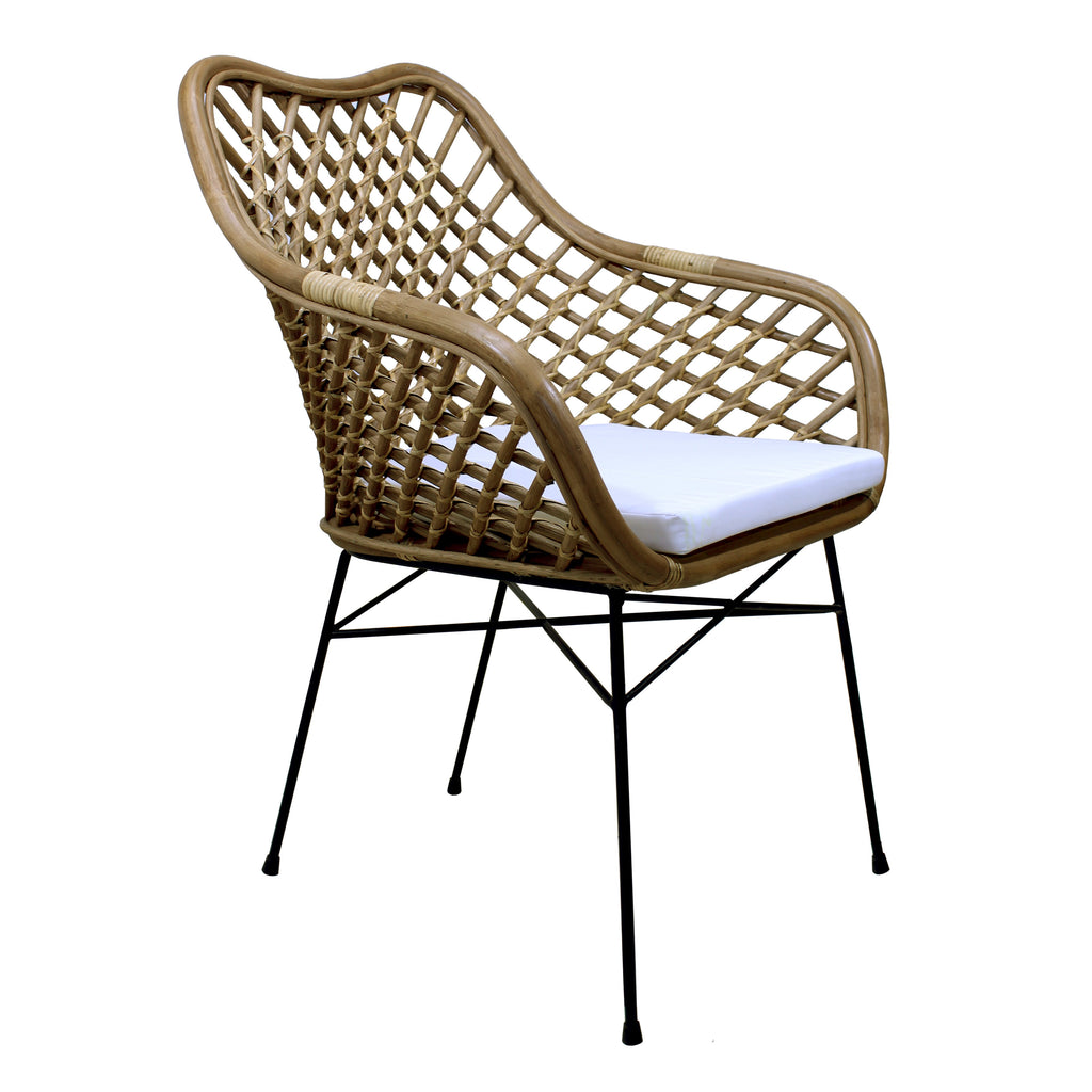 Silla de Rattan Palopo antique