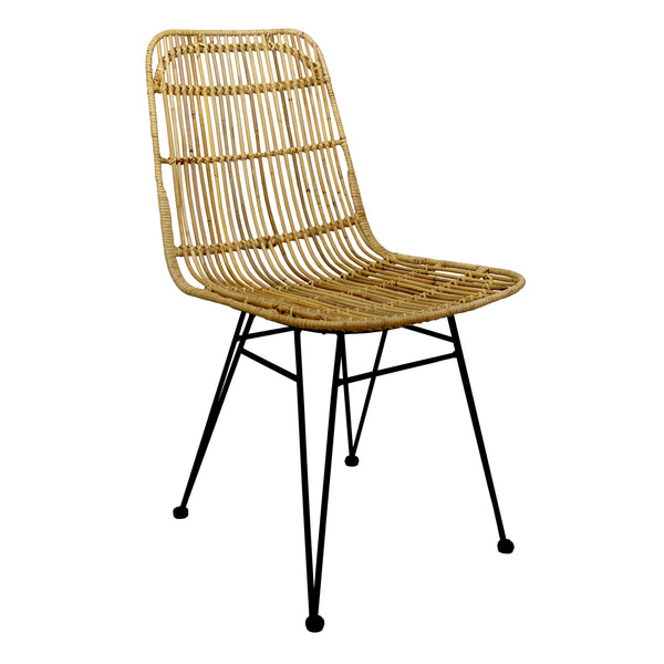 Silla de Rattan Savero natural