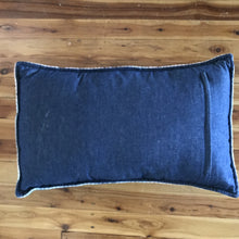 Load image into Gallery viewer, Cushion Cover - Vintage Wool & Denim Pink