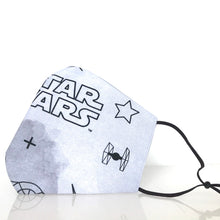 Load image into Gallery viewer, Mask - Star Wars /Nonwoven /Grey 100% Cotton