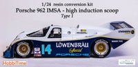 1/24 Porsche 962 IMSA resin conversion type 1 for Hasegawa & Revell kits GTP