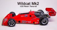 1/25 1977-78 Wildcat Indy resin trans-kit
