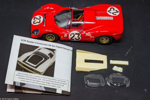 1/24 Spyder conversion kit for Fujimi Ferrari 330 P4