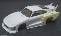 1/24 1980 Sachs Porsche 935 K3 Le-Mans IMSA resin fender conversion for NuNu k3 kits