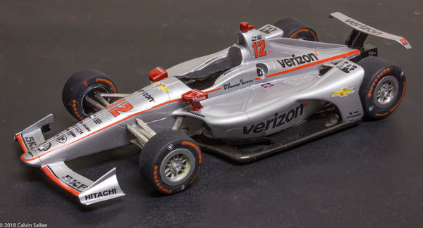 1/25 2018 Dallara Indy car resin kit Penske Chevy Honda model car