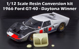 1/12 1966 Shelby American Ford GT-40 Daytona Resin Conversion for Trumpeter Magnifier kits