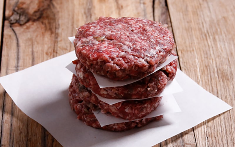 organic beef burger recipe, grass-fed beef, meat box delivery uk