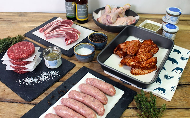 organic meat boxes uk grass-fed beef barbecue box